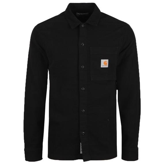 Carhartt WIP Mens Black Holston Shirt