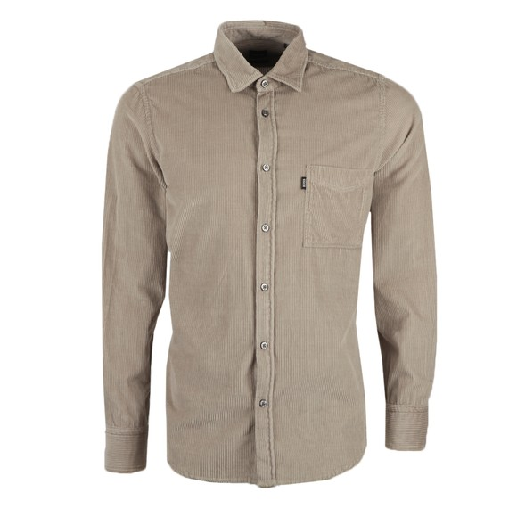 BOSS Mens Beige Casual Relegant Shirt