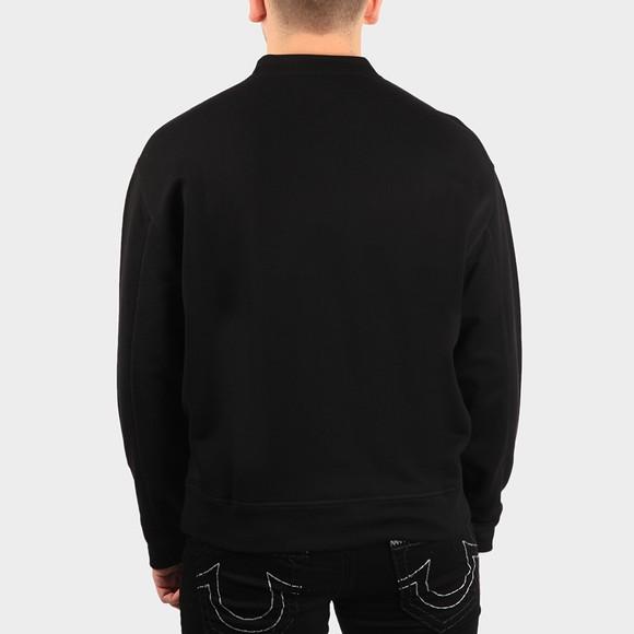 Emporio Armani Mens Black Allover Printed Sweatshirt main image