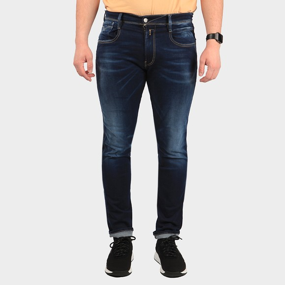 Replay Mens Blue Hyperflex X-Lite Jean