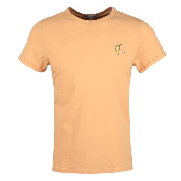 Maison Labiche Mens Pink Yin Yang Heavy T-Shirt main image