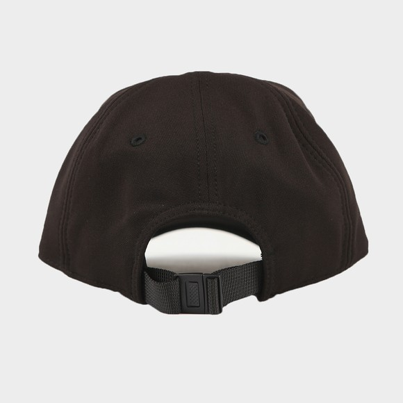Fred Perry Mens Black Arch Branded Tricot Cap main image