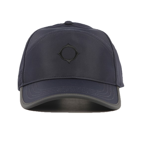 Ma.Strum Mens Blue Embroidered Icon Cap