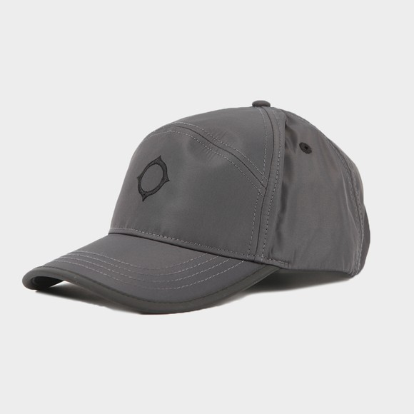Ma.Strum Mens Grey Embroidered Icon Cap