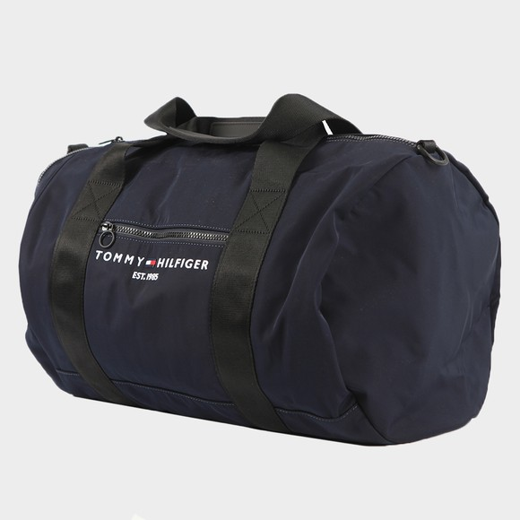 Tommy Hilfiger Mens Blue Established Duffle Bag