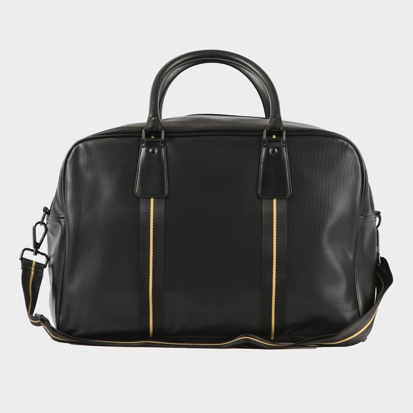 Fred Perry Mens Black Pique Texture Holdall main image