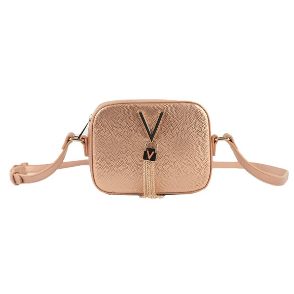 Valentino Bags Womens Pink Divina Small Handle Tote