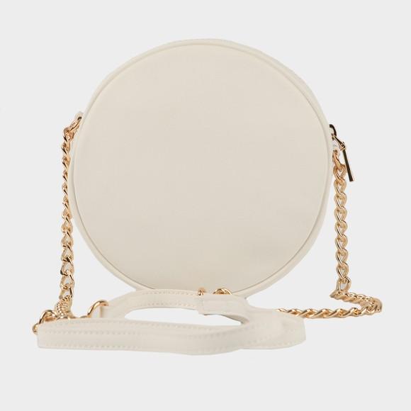 Love Moschino Womens White Padded Heart Shoulder Bag main image