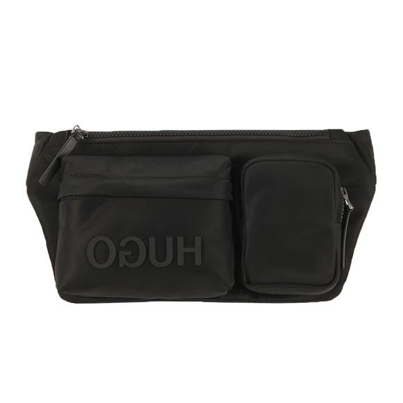 HUGO Mens Black Record Waist Bag