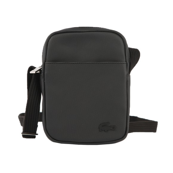Lacoste Mens Black NH2340 Slim Vertical Camera Bag