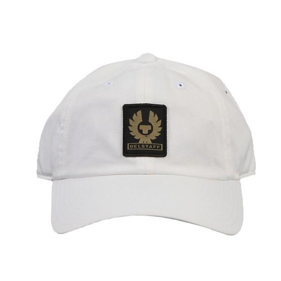 Belstaff Mens White Phoenix Basic Logo Cap