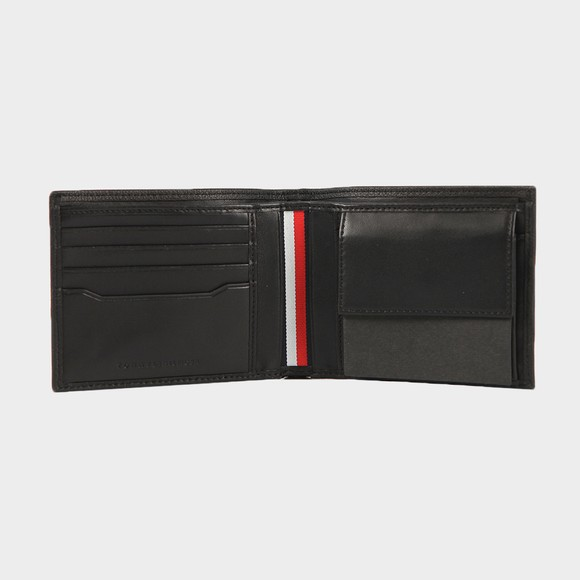 Tommy Hilfiger Mens Black Downtown CC & Coin Wallet main image