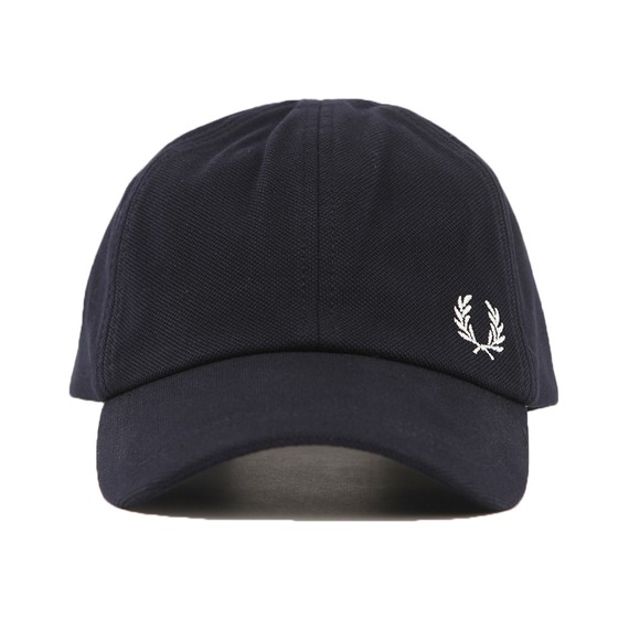 Fred Perry Mens Blue Pique Classic Cap