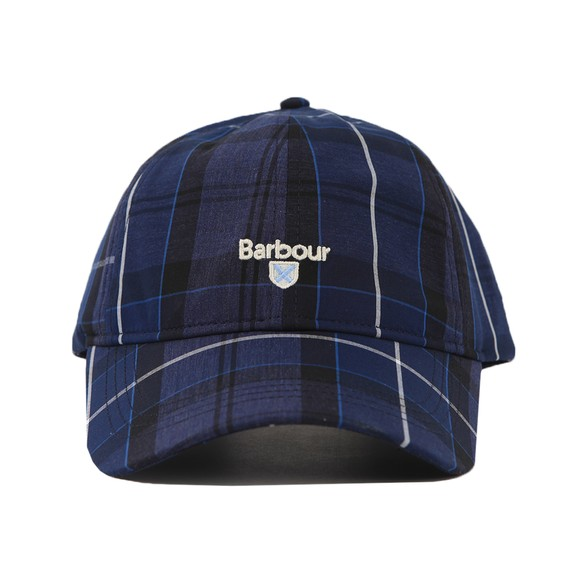 Barbour Lifestyle Mens Blue Tartan Cap main image