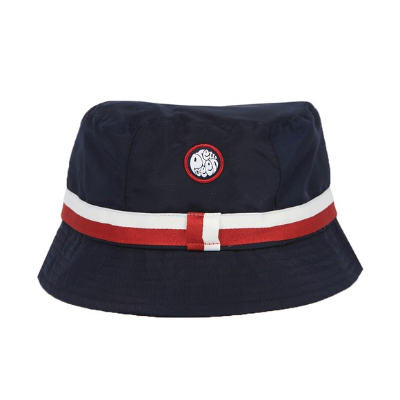 Pretty Green Mens Blue Tilby Bucket Hat main image