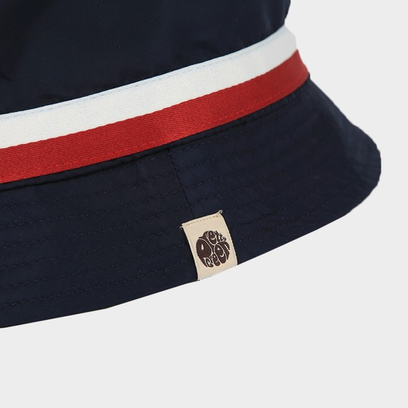 Pretty Green Mens Blue Tilby Bucket Hat