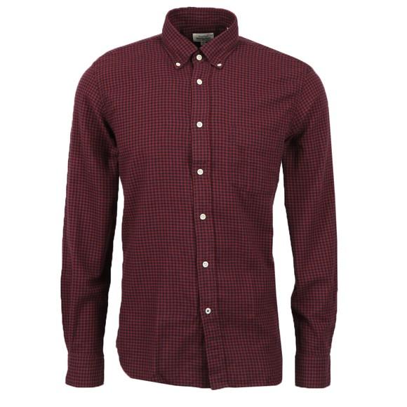 Hartford Mens Red Pal LS Shirt