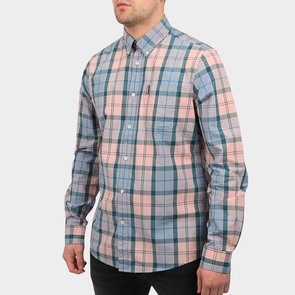 Barbour Lifestyle Mens Pink Sandwood Shirt main image