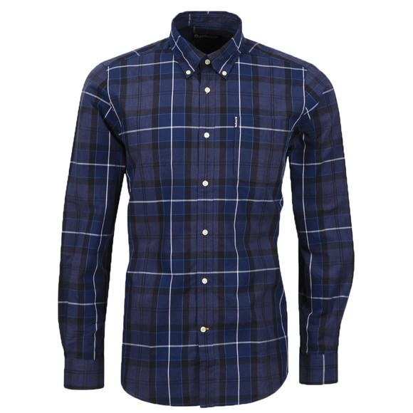 Barbour Lifestyle Mens Blue Sandwood Shirt main image