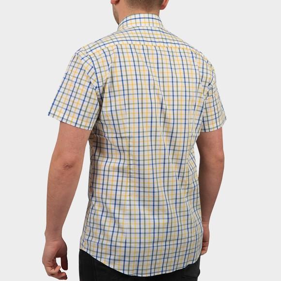 Barbour Lifestyle Mens Yellow S/S Tattersal 15 Shirt main image