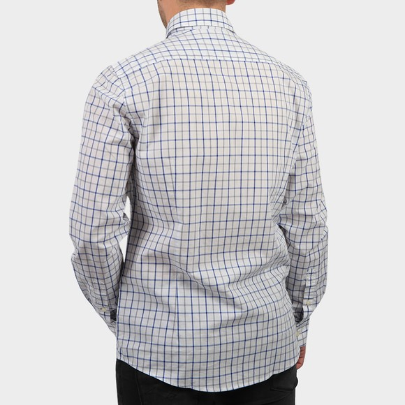 Barbour Lifestyle Mens Blue Tattersal 13 Tailored Shirt main image