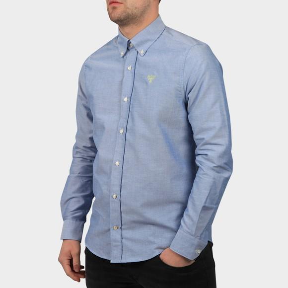 Barbour Beacon Mens Blue Oxford Shirt