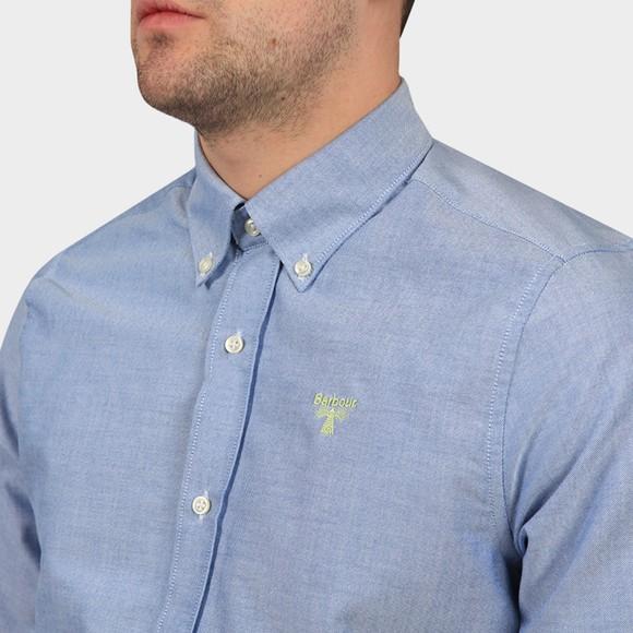 Barbour Beacon Mens Blue Oxford Shirt main image