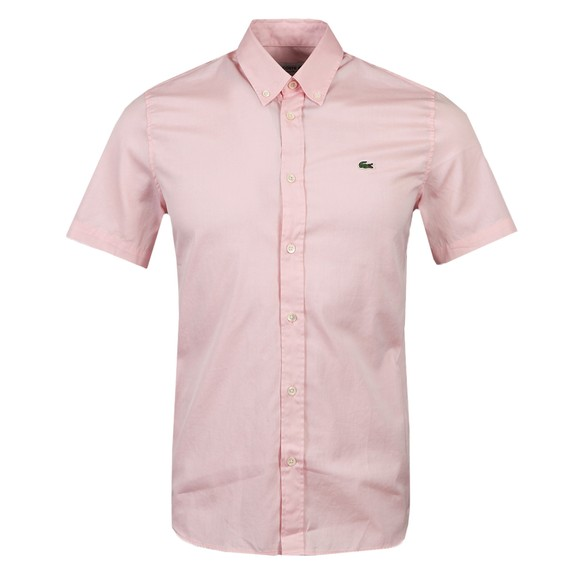 Lacoste Mens Pink S/S ch2944 Shirt  main image