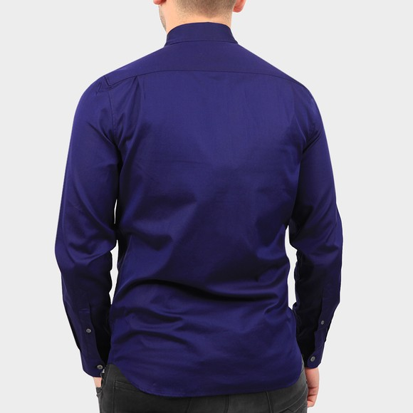 Lacoste Mens Blue CH2933 Premium Cotton Shirt main image