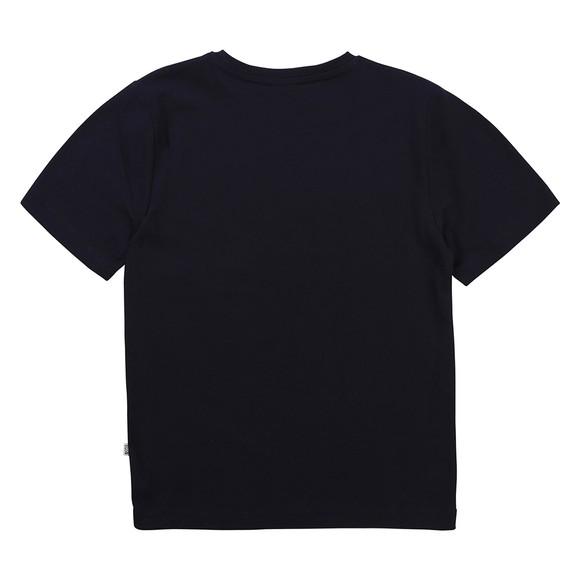 BOSS Boys Blue J25G97 Centre Logo T Shirt main image