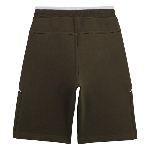BOSS Boys Green J24M28 Sweat Short