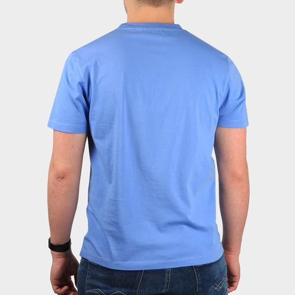 Maison Labiche Mens Blue No Problemo Heavy T-Shirt main image