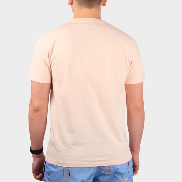 Maison Labiche Mens Pink Classic Peace/Gots T-Shirt main image