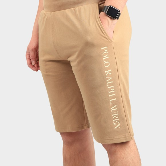Polo Ralph Lauren Mens Beige Slim Sleep Short