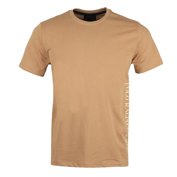 Polo Ralph Lauren Mens Beige Crew Sleep T-Shirt