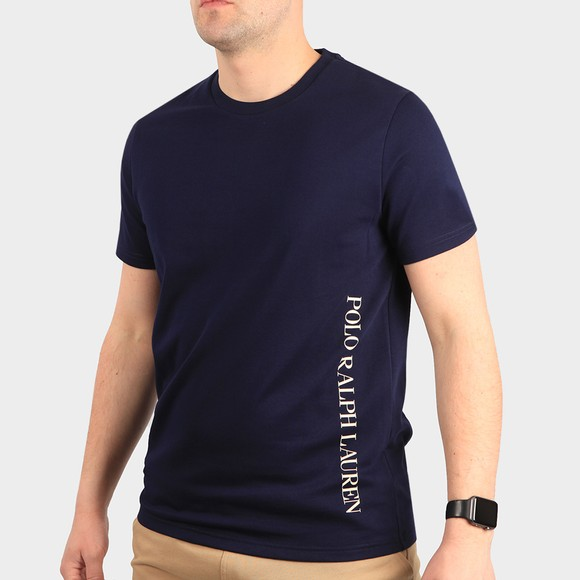 Polo Ralph Lauren Mens Blue Crew Sleep T-Shirt