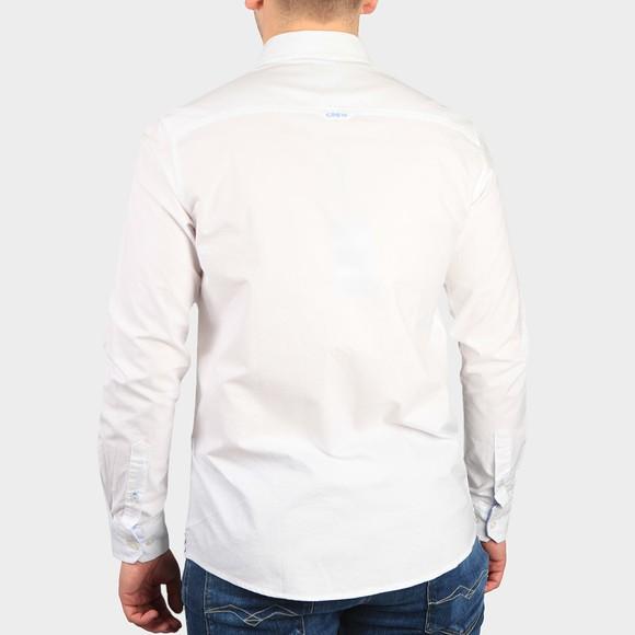 Crew Clothing Company Mens White Oxford Shirt main image