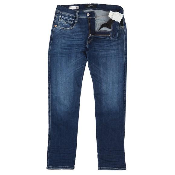 Replay Mens Blue Hyperflex Stretch Jean
