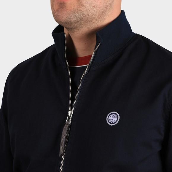 Pretty Green Mens Blue Cotton Track Jacket main image