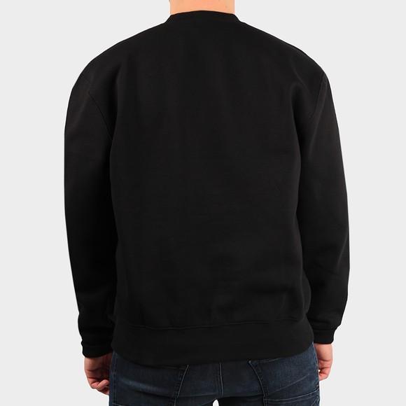 Carhartt WIP Mens Black Logo Sweatshirt main image
