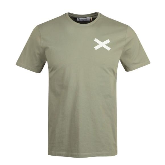Edmmond Studios Mens Green Cross T Shirt