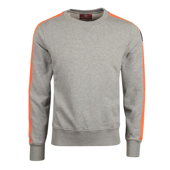 Parajumpers Mens Grey Armstrong Taped Sweatshirt
