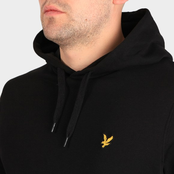 Lyle and Scott Mens Black Pullover Hoodie main image