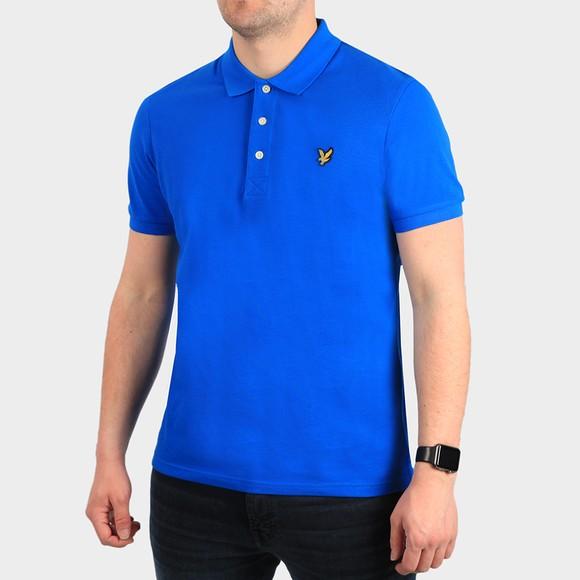 Lyle and Scott Mens Blue Polo Shirt