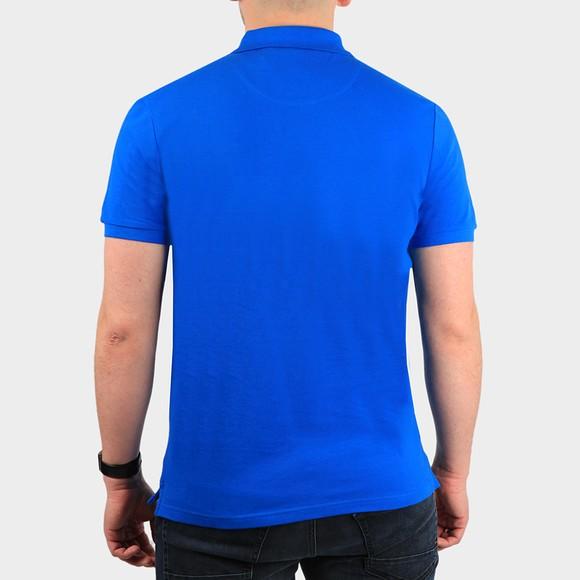 Lyle and Scott Mens Blue Polo Shirt main image