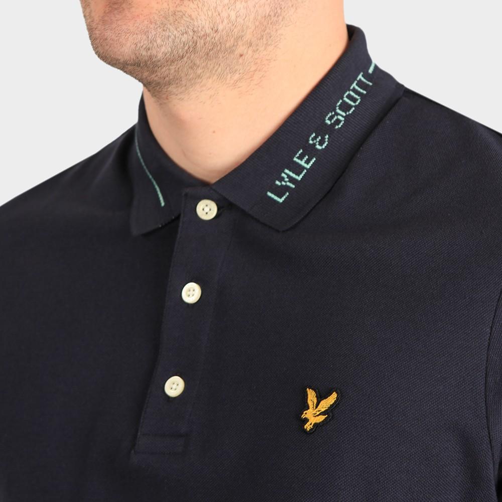 Branded Collar Polo Shirt main image