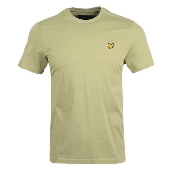 Lyle and Scott Mens Green Basic T-Shirt