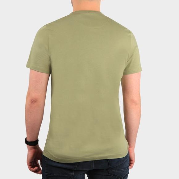 Lyle and Scott Mens Green Basic T-Shirt main image