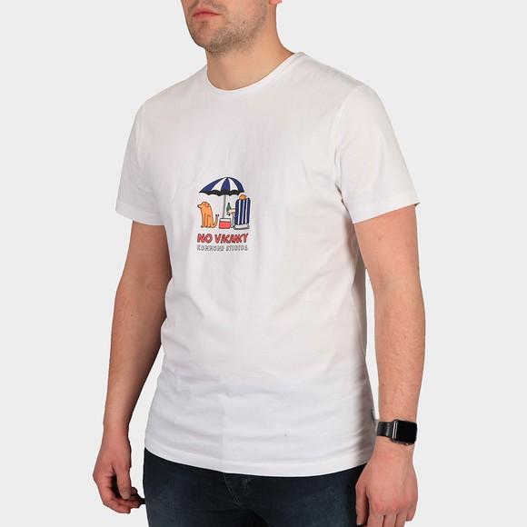 Edmmond Studios Mens White No Vacancy T Shirt