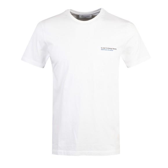 Edmmond Studios Mens White Real Duck T Shirt